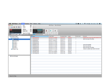 DSS Player voor Mac, Olympus, Transcription Software
