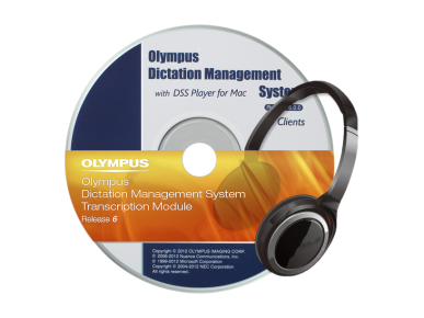 ODMS ‑ Transcriptiemodule, Olympus, Transcription Software